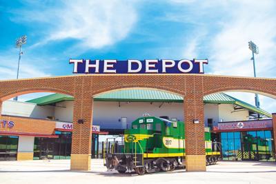 The Depot entrance