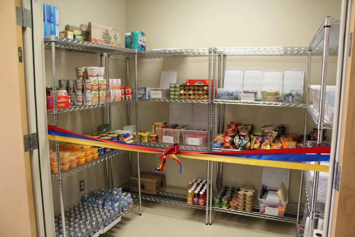 Hill College food pantry