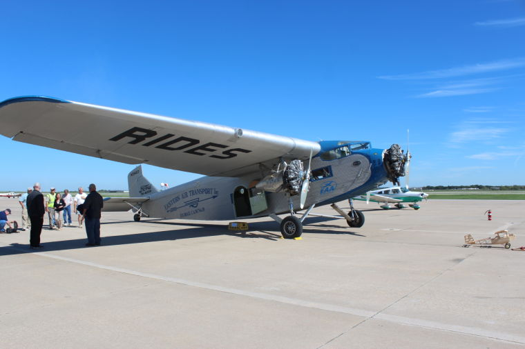 A 1929 Ford Tri-Motor touched down for a few days of flight last week at Fort Worth's Spinks Airport. The plane is one of 199 that were built and was ...