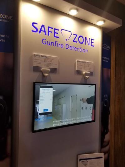 Safe Zone gunfire detection