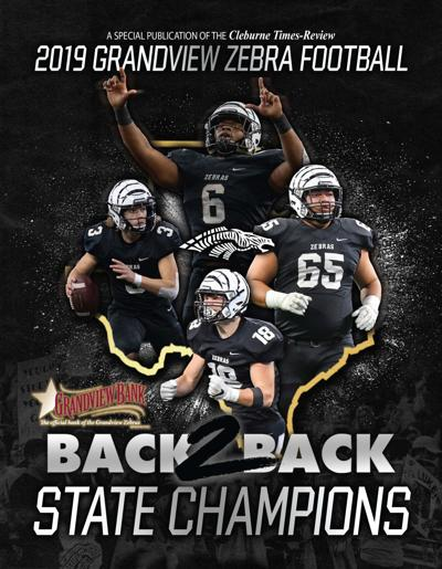 2019 Grandview Zebra Football State Champs