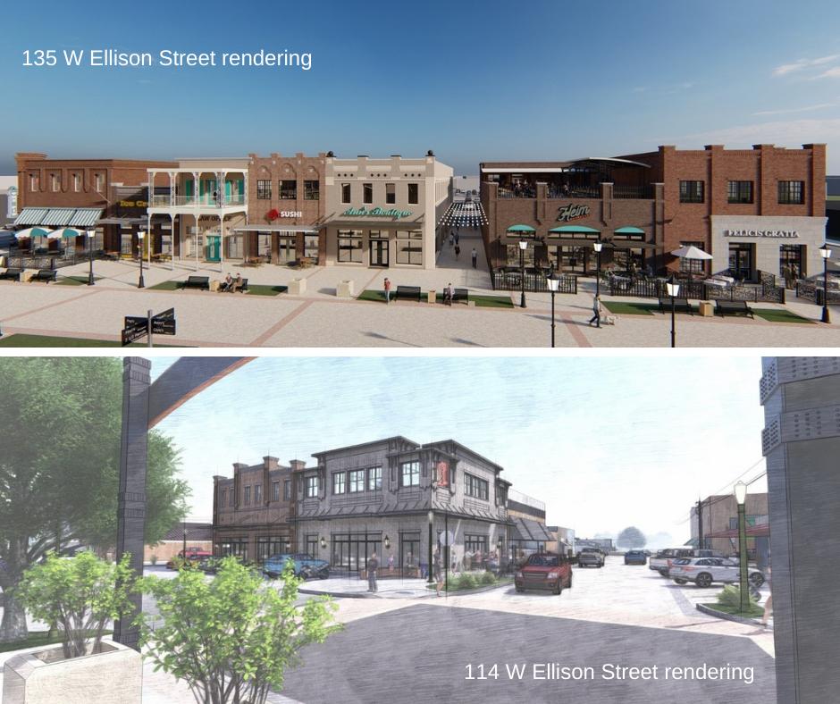 135 W Ellison Street rendering