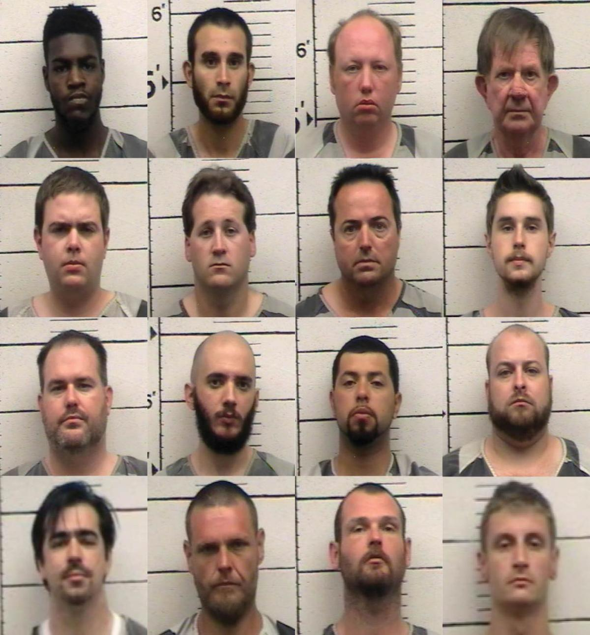 UPDATED: Undercover sting garners 16 arrests in Johnson County