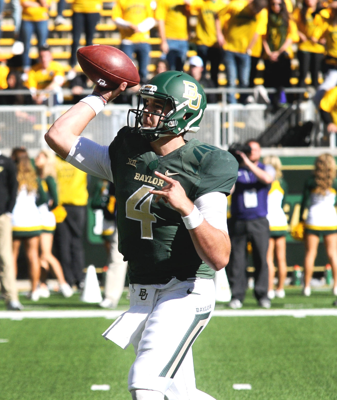 Baylor making quarterback change before facing Duke