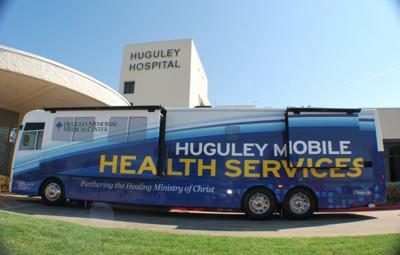 Huguley unveils new, upgraded mobile service bus | Archives