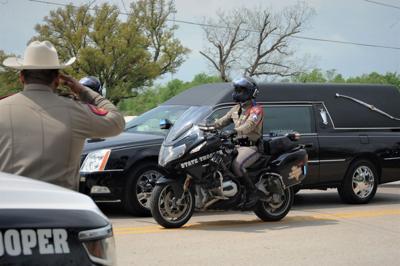 Trooper Walker funeral procession