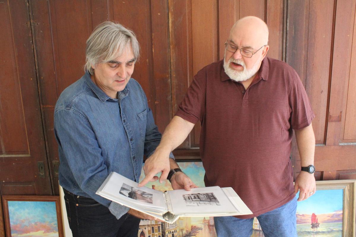 Yuri Trushin and Tim Goss
