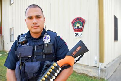Keene Police Department less lethal shotgun