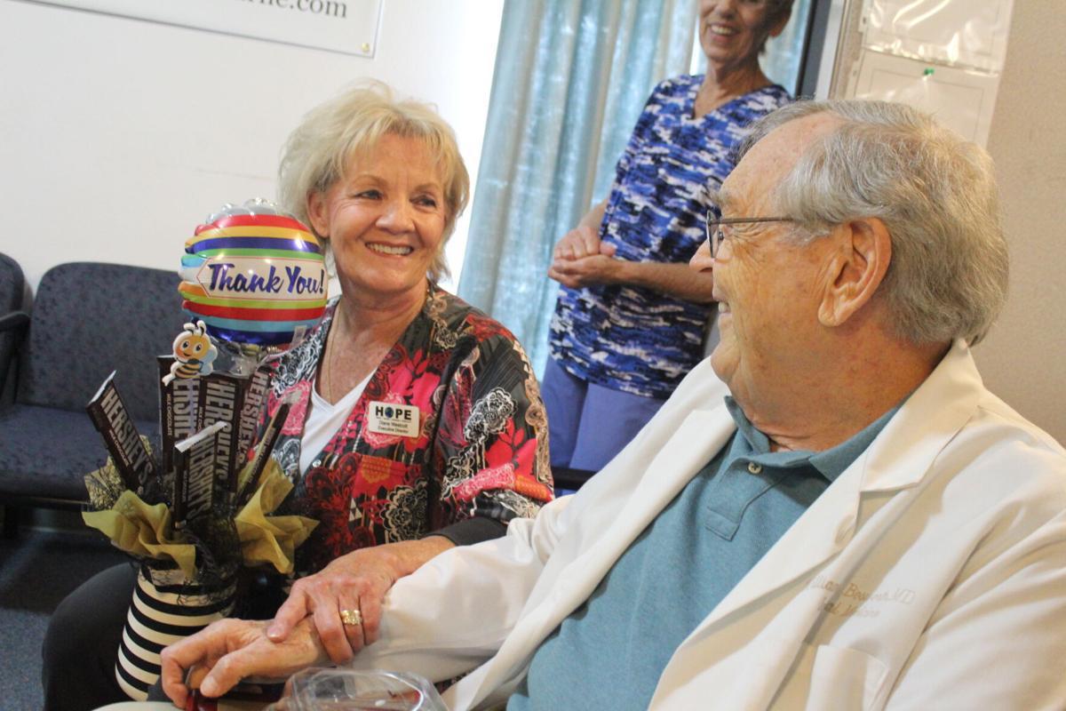 Dr. William Bosworth and Diane Westcott