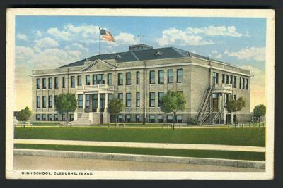 Fulton Building  Cleburne High School  1908