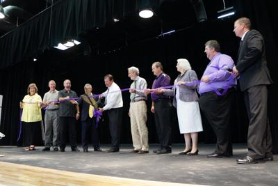 AJHS ribbon cutting