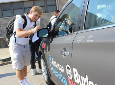 Nissan Of Burleson >> One Chs Student To Receive Free Car Local News