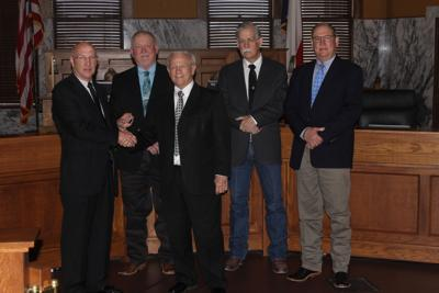 Commissioners commemorate Moore's 30 years | Local News