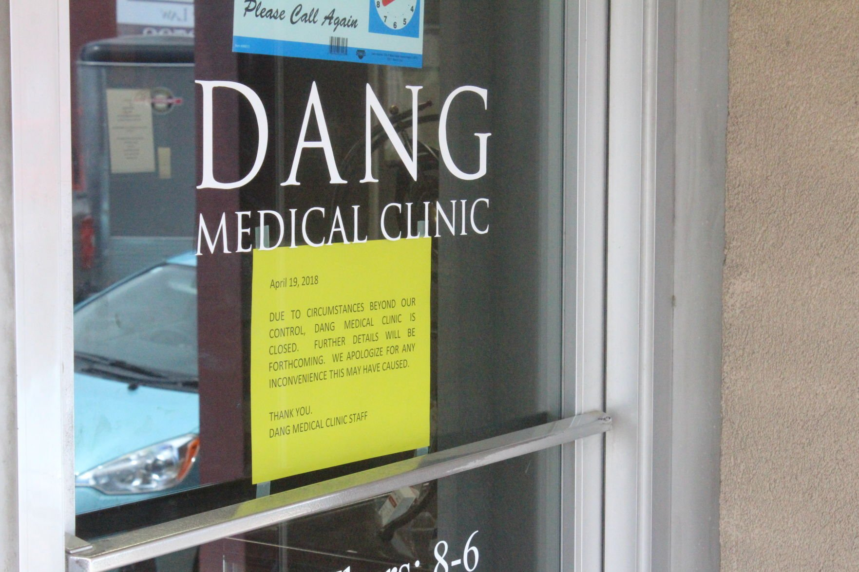 Dang Medical Clinic closed; Doctor accused of improper prescriptions sex assault : doctor door - pezcame.com