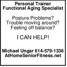 Certified Personal Trainer Functional Aging Specialist 55+ Train at home