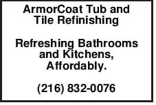 ArmorCoat Tub and Tile Refinishing Refreshing Bathrooms and Kitchens, Affordably.
