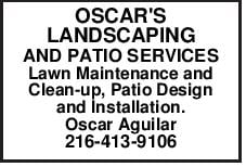 OSCAR'S LANDSCAPING AND PATIO SERVICES