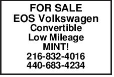 FOR SALE EOS