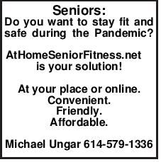 Seniors: Do you want to stay fit and safe during
