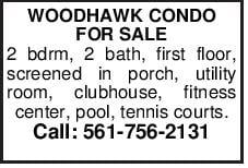WOODHAWK CONDO FOR SALE