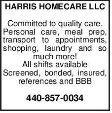 HARRIS HOMECARE LLC