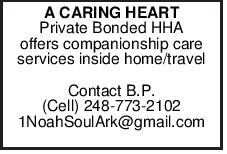 A CARING HEART