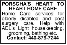 PORSCHA'S HEART TO HEART HOME CARE