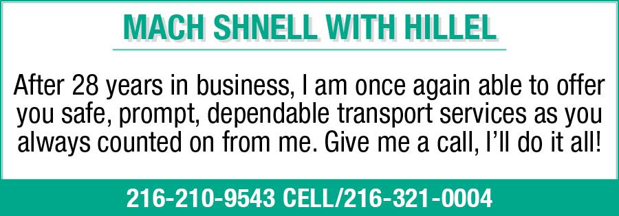 MACH SHNELL TRANSPORTATION