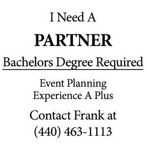 I Need A PARTNERBachelors Degree RequiredEvent Planning Experience A PlusContact