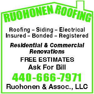 RUOHONEN & ASSOCIATES LLC