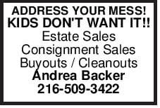 ADDRESS YOUR MESS!