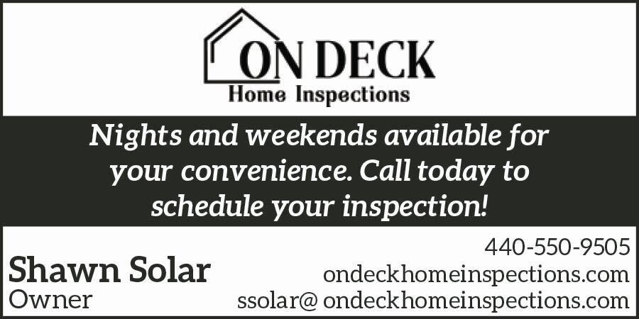 ON DECK HOME INSPECTIONS