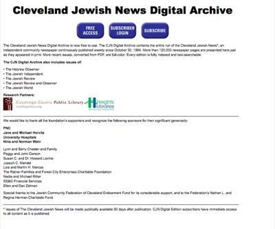 CJN Digital Archive