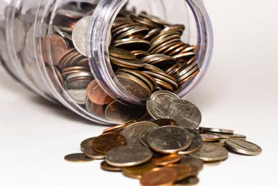 stock coins money