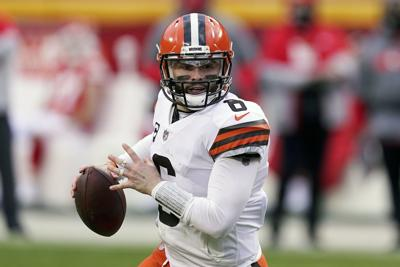 Browns Mayfield Football