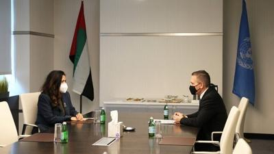 Israel, UAE ambassadors to UN hold inaugural meeting