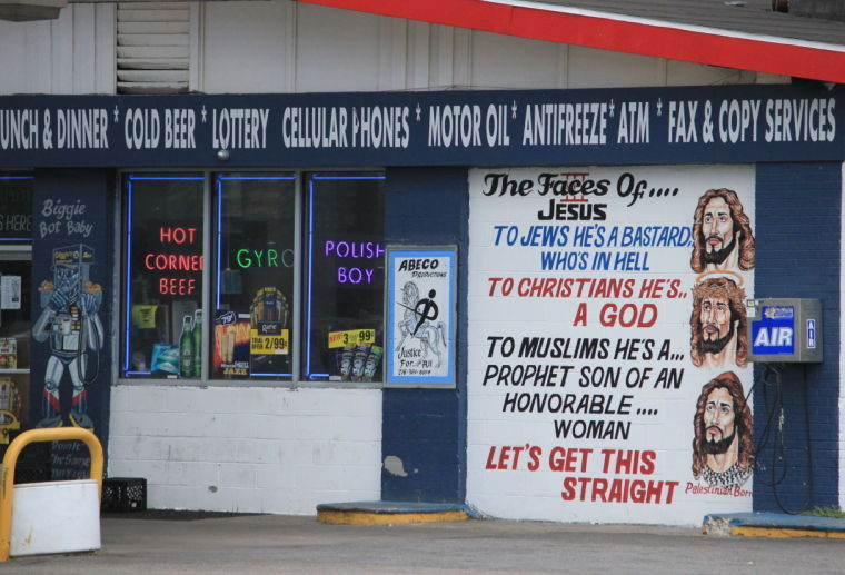 Adl mural highly offensive and anti semitic news for Cleveland gas station mural