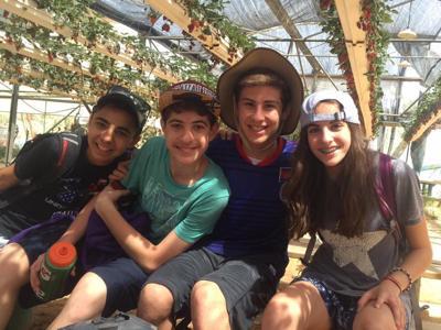 Israel trip: Noah Turoff