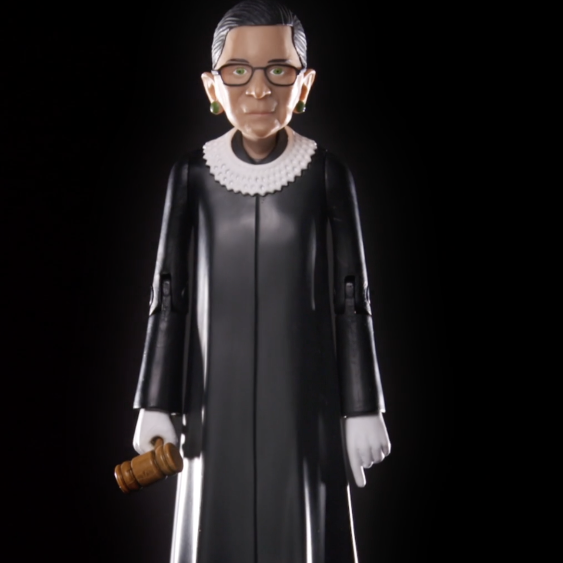 Ruth Bader Ginsburg action figures will ship this fall