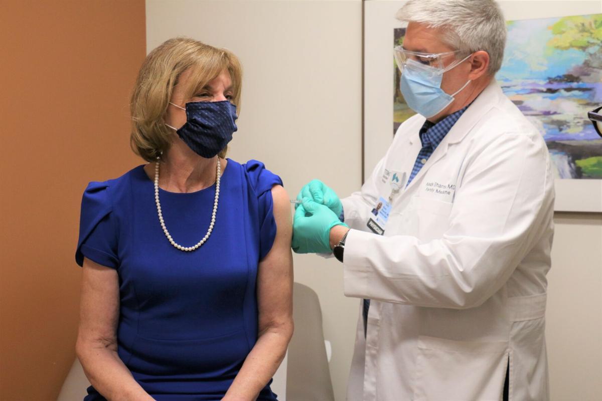 Fran DeWine vaccine
