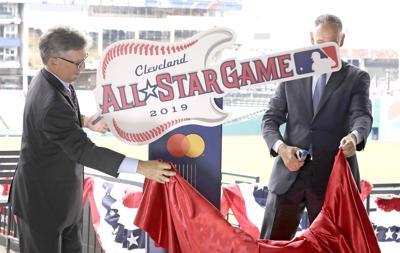Indians All Star Game Logo Baseball