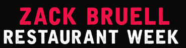 Zack Bruell restaurant week