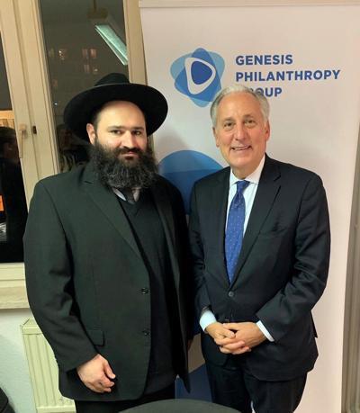 Rabbi Elisha Portnoy and Eric D. Fingerhut
