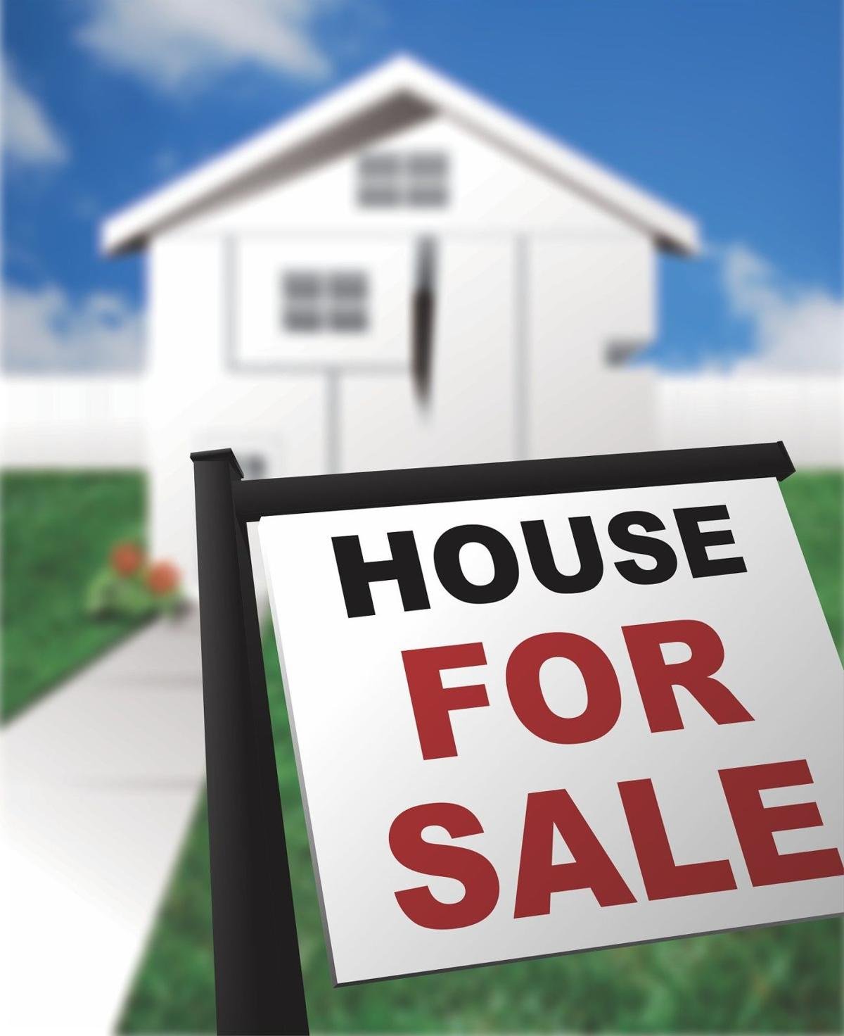 stock real estate home for sale
