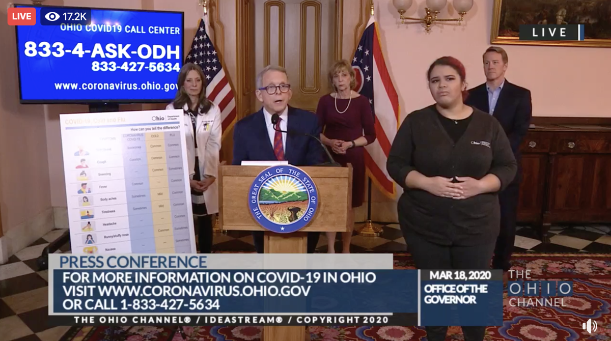 Ohio Bmvs Salons Ordered To Close 88 Covid 19 Cases Confirmed In State Local News Clevelandjewishnews Com