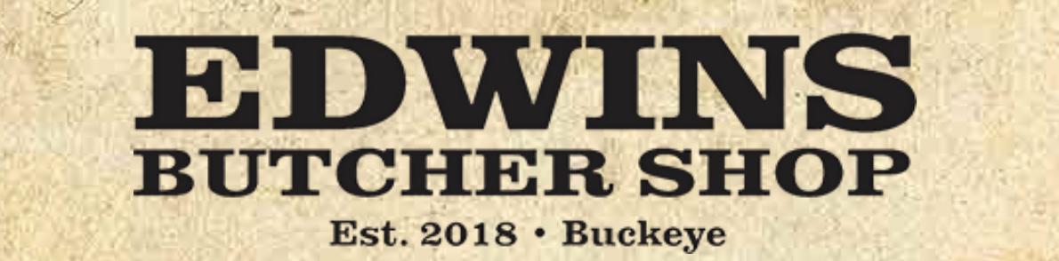 EDWINS butcher logo