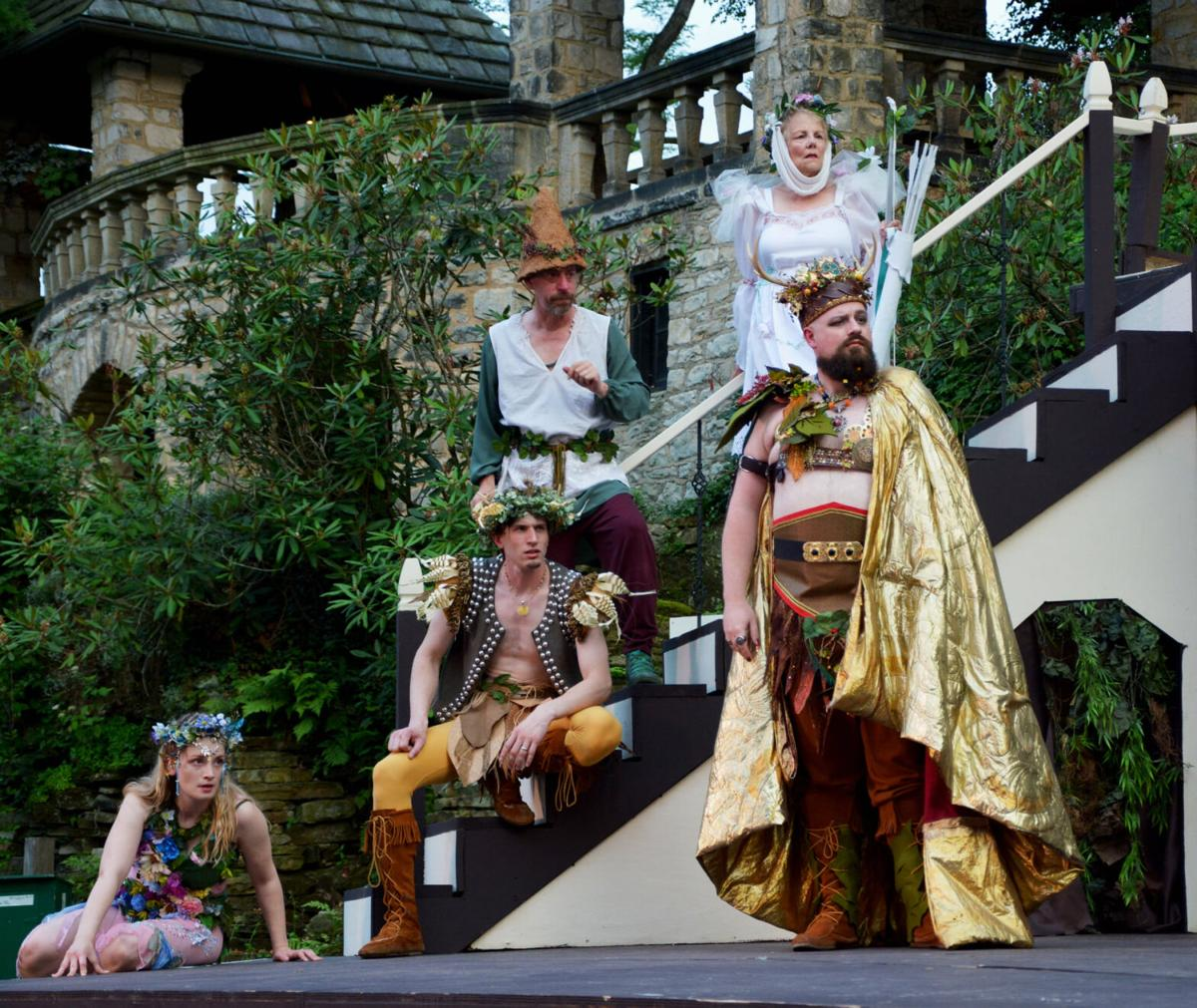 "The fairies of ""A Midsummer Night's Dream."""