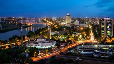 A view of Khartoum, Sudan.