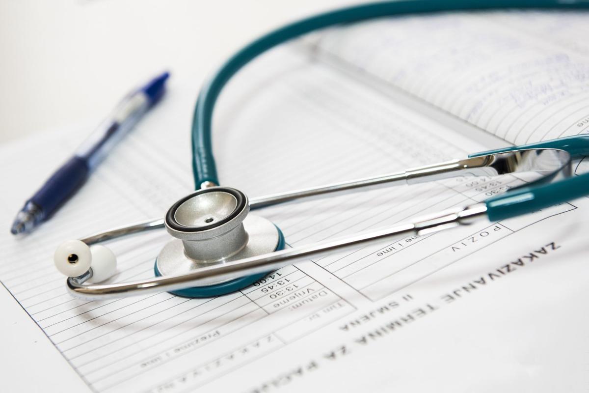 Stock health stethoscope