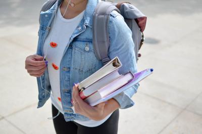 stock high school college books